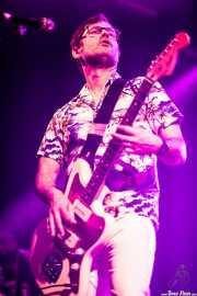 Joey Cape, guitarrista de Me First and The Gimme Gimmes (Santana 27, Bilbao, 2017)