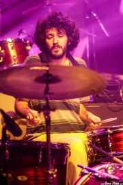 Àngel Garau, baterista de Beach Beach (Kafe Antzokia, Bilbao, 2017)