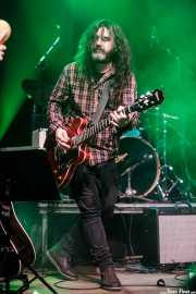 "Alberto Iglesias ""Hal"", guitarrista de Saúl & Friends (Kafe Antzokia, Bilbao, 2017)"