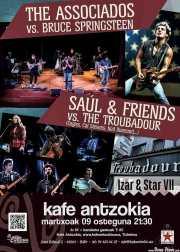 Cartel de The Associados y Saúl & Friends (Kafe Antzokia, Bilbao, )