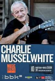 Cartel de Charlie Musselwhite (Sala BBK, Bilbao, )
