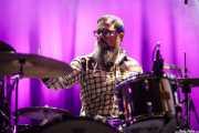 Javier Arias, baterista de Supertubos (Escenario Santander, Santander, 2017)