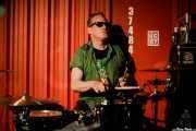 Jimmy Birmingham, baterista de The Real Kids (Satélite T, Bilbao, 2017)