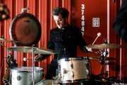 Roque Torralva, baterista de Pájaro (Satélite T, Bilbao, 2017)
