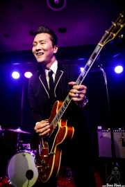"Takashi Manabe ""Mr. Pan"", cantante y guitarrista de The Neatbeats (Kafe Antzokia, Bilbao, 2017)"