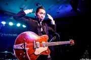 "Kazuya Tosa ""Mr.Lawdy"", cantante y guitarrista de The Neatbeats (Kafe Antzokia, Bilbao, 2017)"