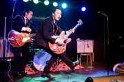 "Kazuya Tosa ""Mr.Lawdy"" -guitarra y voz- y Takashi Manabe ""Mr. Pan"" -guitarra y voz- de The Neatbeats (Kafe Antzokia, Bilbao, 2017)"