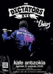 Cartel de The Dictators NYC (Kafe Antzokia, Bilbao, )