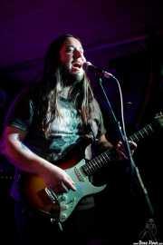 """Aitor Zorriketa """"The Malamute"""", guitarrista de James Room & Weird Antiqua (Santana 27, Bilbao, 2017)"""