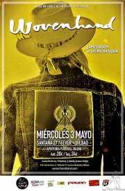 Cartel de Wovenhand (Santana 27, Bilbao, )