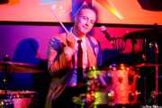 Johnny G. Wiz, baterista y cantante de The Dreamboats (Shake!, Bilbao, 2017)