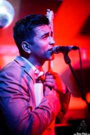 Sir Ritchie Hummins, cantante y guitarrista de The Dreamboats (Shake!, Bilbao, 2017)