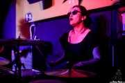 Alba Granados, baterista de MoonShakers (Shake!, Bilbao, 2017)
