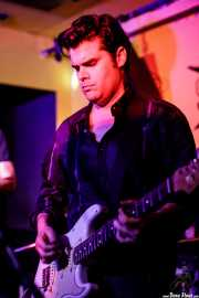Álvaro Segovia, cantante y guitarrista de Cavaliere (Shake!, Bilbao, 2017)