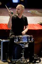 David Kleynjans, baterista de The Wellingtons (Colegio de Abogados, Bilbao, 2017)