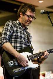 David Anthony, guitarrista y cantante de The Wellingtons (Colegio de Abogados, Bilbao, 2017)