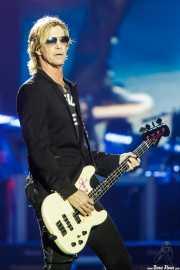 Duff McKagan, bajista y cantante de Guns n' Roses (Estadio de San Mamés, Bilbao, 2017)