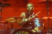 Frank Ferrer, baterista de Guns n' Roses (Estadio de San Mamés, Bilbao, 2017)