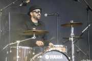 Iñigo Elexpuru, baterista de Mud Candies (Music Legends Fest, Sondika, 2017)