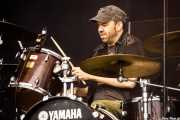 Joe Winters, baterista de The Steepwater Band (Music Legends Fest, Sondika, 2017)