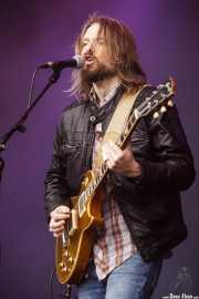 Jeff Massey, cantante y guitarrista de The Steepwater Band (Music Legends Fest, Sondika, 2017)