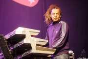 Loran Romain, teclista de Alpha Blondy & The Solar System (Music Legends Fest, Sondika, 2017)