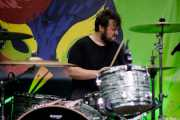 Rafael Mallo, baterista de Triángulo de Amor Bizarro (Hirian Festibala, Bilbao, 2017)