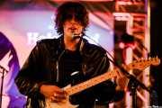 A.R. Ferreira, guitarrista de Novedades Carminha (Hirian Festibala, Bilbao, 2017)