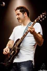 Marcos Montoto, cantante y guitarrista de Peralta (Andoaingo Rock Jaialdia, Andoain, 2017)
