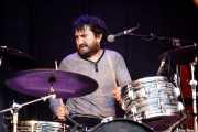 """Pablo González """"Pibli"""", baterista y cantante de Peralta (Andoaingo Rock Jaialdia, Andoain, 2017)"""