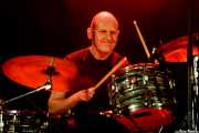 Dave Pearce, baterista de The Bevis Frond (Andoaingo Rock Jaialdia, Andoain, 2017)