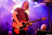 Nick Saloman -voz y guitarra- y Adrian Shaw -bajo- de The Bevis Frond (Andoaingo Rock Jaialdia, Andoain, 2017)