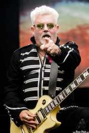 Robb Weir,guitarrista de Tygers of Pan Tang (Azkena Rock Festival, Vitoria-Gasteiz, 2017)