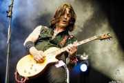 Rory Kelly, guitarrista de Crank County Daredevils (Azkena Rock Festival, Vitoria-Gasteiz, 2017)