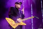 Rick Nielsen, guitarrista de Cheap Trick (Azkena Rock Festival, Vitoria-Gasteiz, 2017)