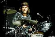 Robert Eriksson, baterista de The Hellacopters (Azkena Rock Festival, Vitoria-Gasteiz, 2017)