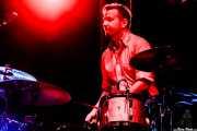 Anton Jarl, baterista DE Los Mambo Jambo (Azkena Rock Festival, Vitoria-Gasteiz, 2017)