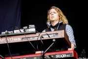 """Jesper Bo """"Jay Boe"""" Hansen,teclista de Inglorious (Azkena Rock Festival, Vitoria-Gasteiz, 2017)"""