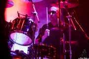 "Gary ""Harry"" James, baterista de Thunder (Azkena Rock Festival, Vitoria-Gasteiz, 2017)"