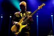 Rowland Salley, bajista de Chris Isaak (Azkena Rock Festival, Vitoria-Gasteiz, 2017)
