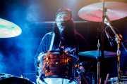 Paris Jeffree, baterista en gira de The Avalanches (Bilbao BBK Live, Bilbao, 2017)