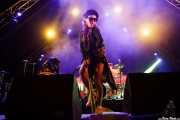Eliza Wolfgramm, cantante en gira de The Avalanches (Bilbao BBK Live, Bilbao, 2017)