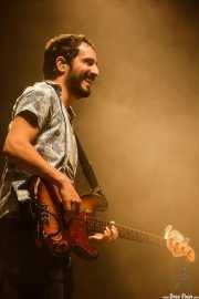 Adrián Bartol, bajista de Xoel López (Bilbao BBK Live, Bilbao, 2017)