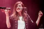 Verónica Ferreiro, cantante corista de Xoel López (Bilbao BBK Live, Bilbao, 2017)