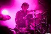 Jim Eno, baterista de Spoon (Bilbao BBK Live, Bilbao, 2017)