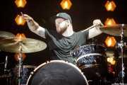 Ben Thatcher, baterista de Royal Blood (Bilbao BBK Live, Bilbao, 2017)