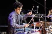 Alejandro de las Heras, baterista de Naranja (Bilbao BBK Live, Bilbao, 2017)