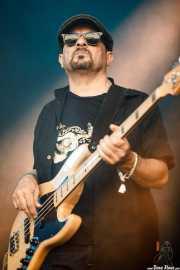 Bajista de Peter Harper (Mundaka Festival, Mundaka, 2017)