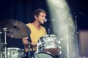 Matthew Correia, baterista de Allah-Las (Mundaka Festival, Mundaka, 2017)