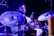 Evan Pazner, baterista de Lee Fields & The Expressions (Mundaka Festival, Mundaka, 2017)